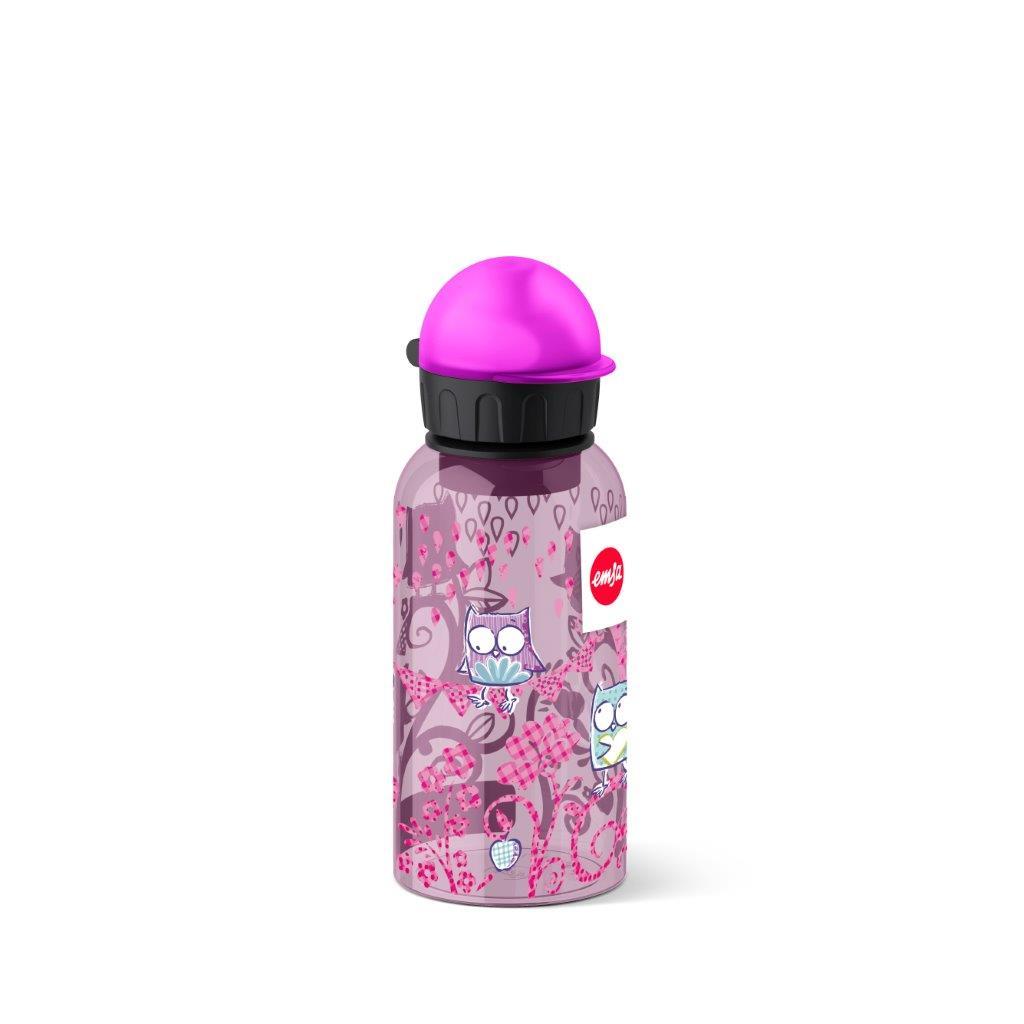 EMSA Dětská lahev na pití 0,4 l Owl Tritan Kids Flask Emsa