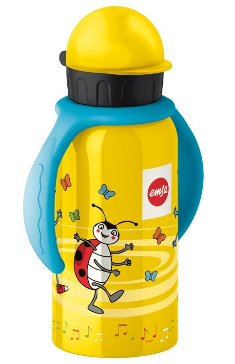 EMSA Dětská lahev na pití 0,4l s úchyty Anton Ant KIDS FLASK Emsa 513248