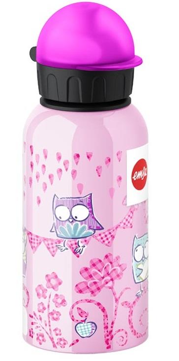 EMSA Dětská lahev na pití 0,4l - Sovička KIDS FLASK Emsa 514399