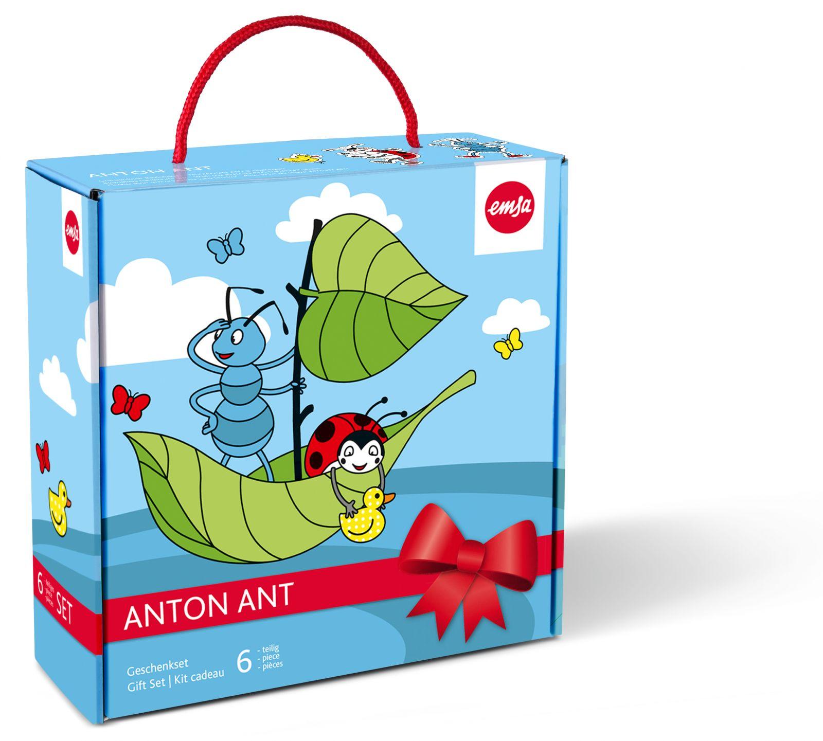 EMSA Dětská sada nádobí 6 ks Anton Ant Emsa