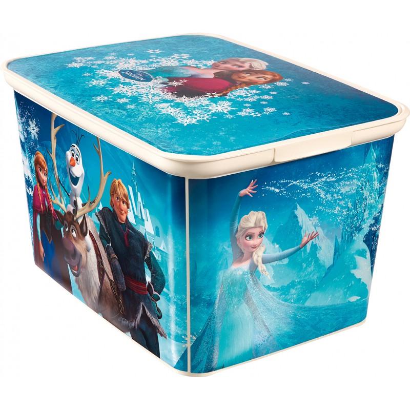 CURVER Dětský úložný box CURVER L - Ledové království