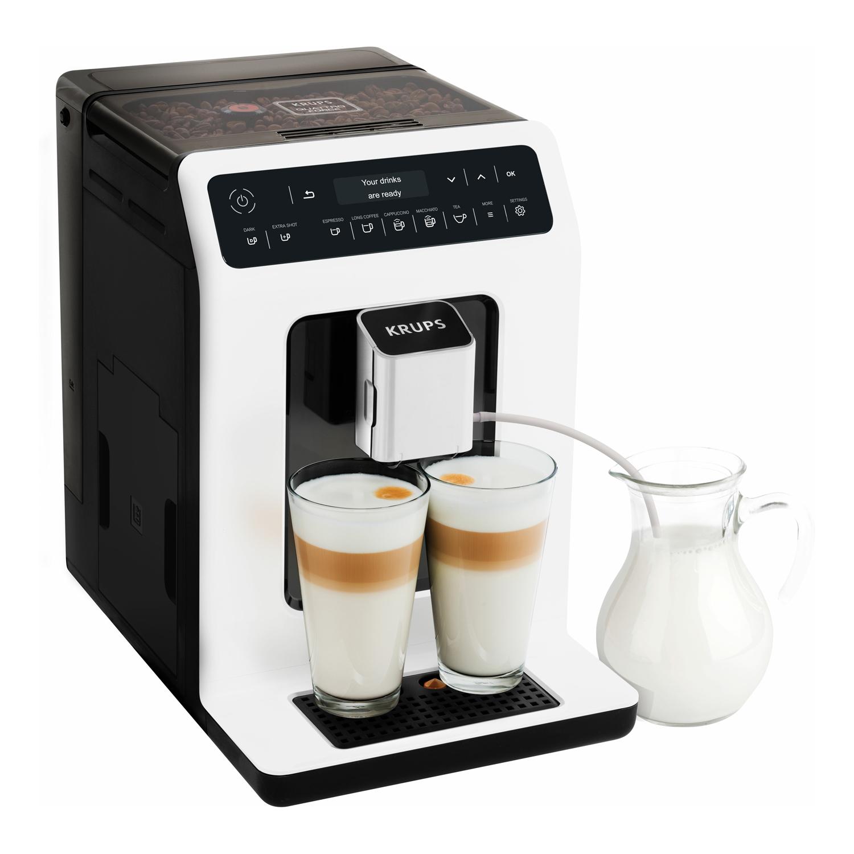 Krups Evidence Automatický kávovar - bílý KRUPS EA890110