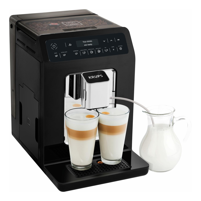 Krups Evidence Automatický kávovar - černý KRUPS EA890810