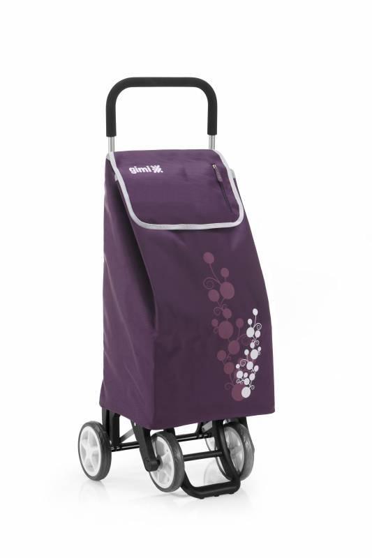 Gimi Gimi Twin fialový nákupní vozík 56l GIMI 154319