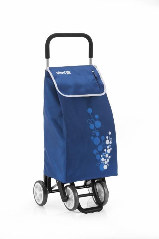 Gimi Gimi Twin modrý nákupní vozík 56l GIMI 154320