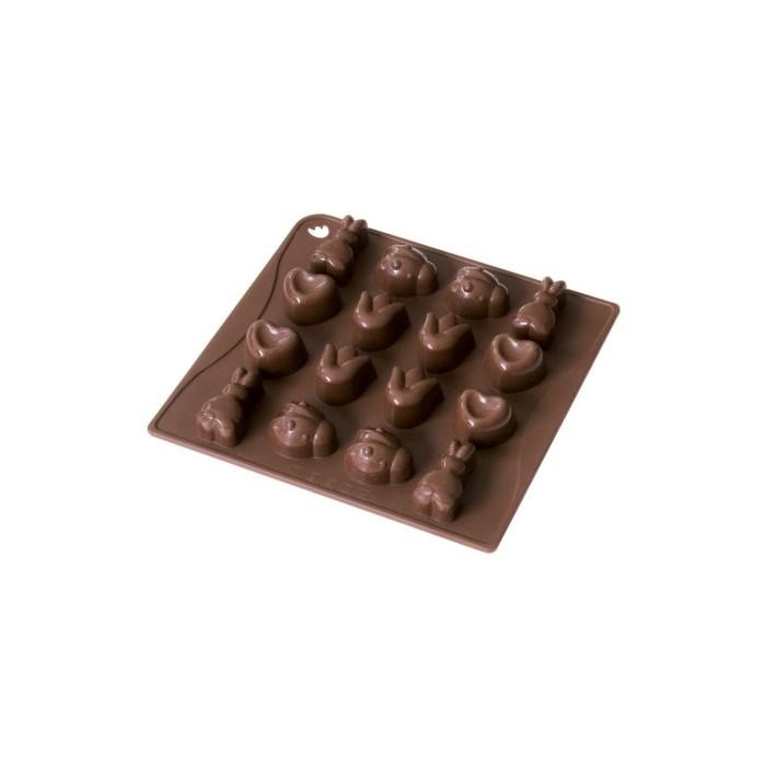 DR.OETKER Forma na čokoládu / led – silikon CLASSIC Dr.Oetker 02467