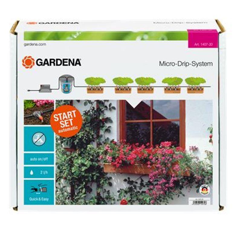 Gardena automatické zavlažování pro 5-6 m květinových truhlíků, 1407-20