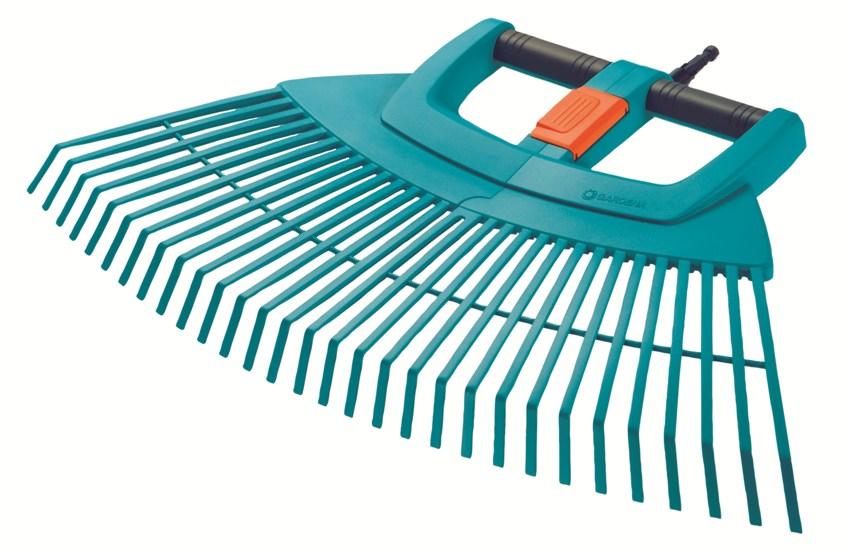 Gardena cs-vějířové hrábě plastové XXL vario, 3107-20