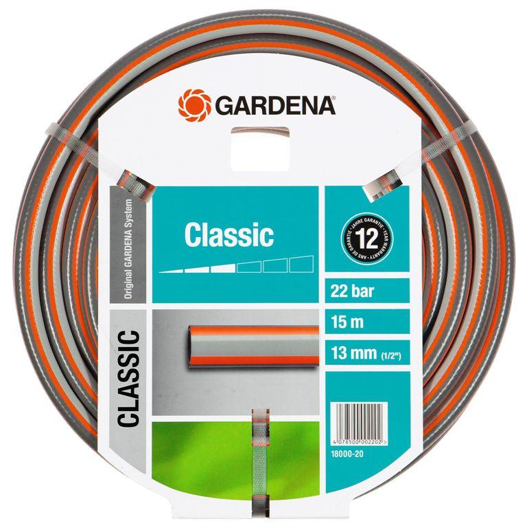 Gardena hadice Classic (1/2) 15 m bez armatur, 18000-20