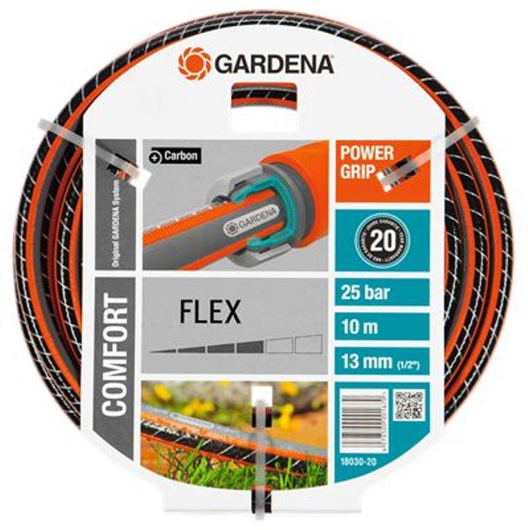 Gardena hadice Comfort FLEX 9 x 9 (1/2) 10 m bez armatur, 18030-20
