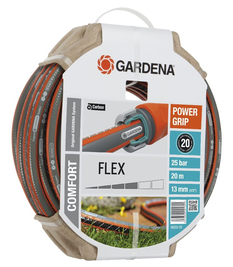 Gardena hadice Comfort FLEX 9 x 9 (1/2) 20 m bez armatur, 18033-20