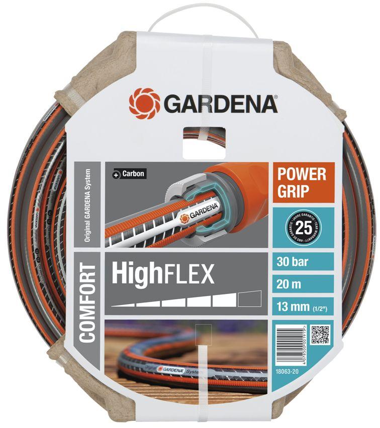 Gardena hadice Comfort HighFLEX 10 x 10 (1/2) 20 m bez armatur, 18063-20