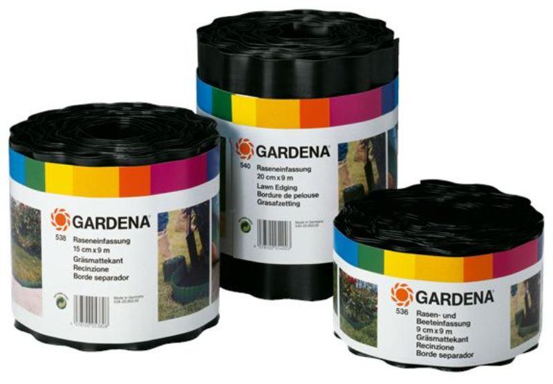 Gardena obruba záhonu, 15 cm výška / 9 m délka, 0532-20