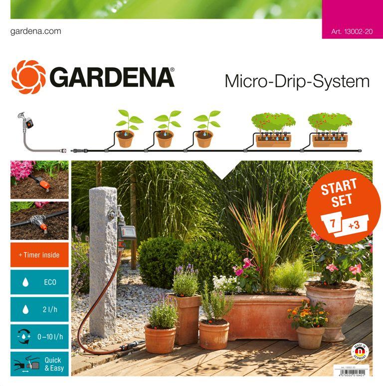 Gardena startovací sada pro rostliny v květináčích s automatikou, 13002-20