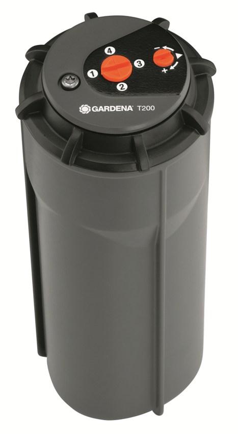 Gardena turbínový výsuvný zadešťovač T 200, 8203-29