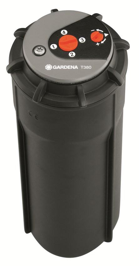 Gardena turbínový výsuvný zadešťovač T 380, 8205-29