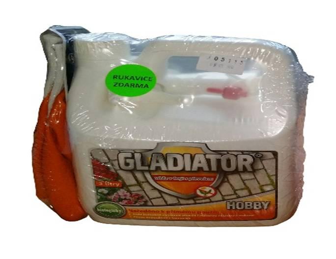 LOVELA Terezín s.r.o. Gladiator HOBBY 3000 ml + rukavice zdarma