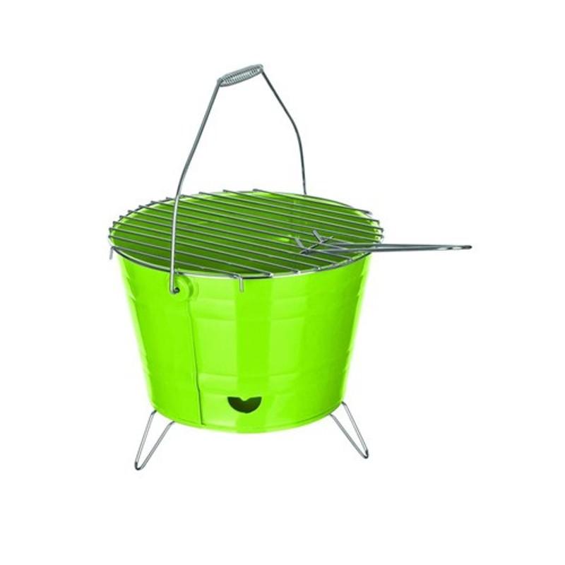 Happy Green Gril BUCKET, zelený