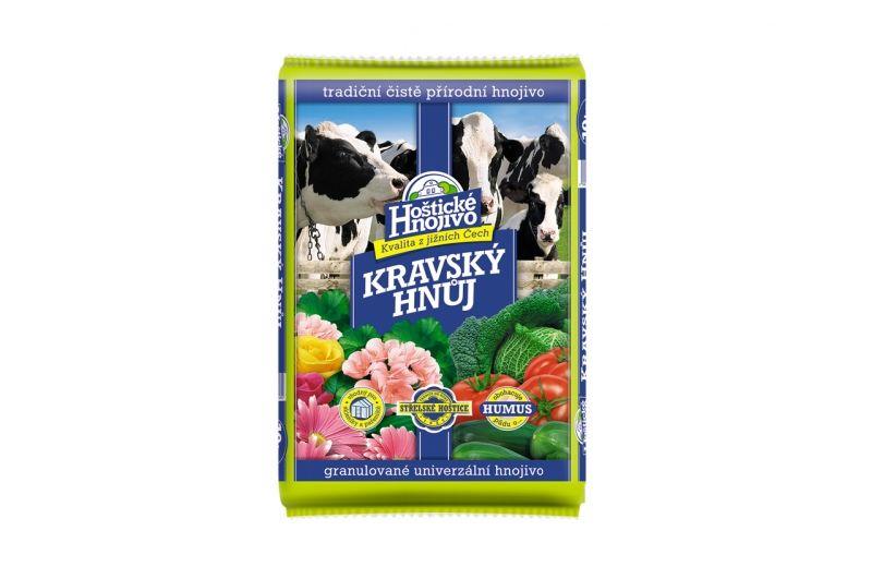 Forestina Hnůj kravský 10 kg Hoštické hnojivo 8176