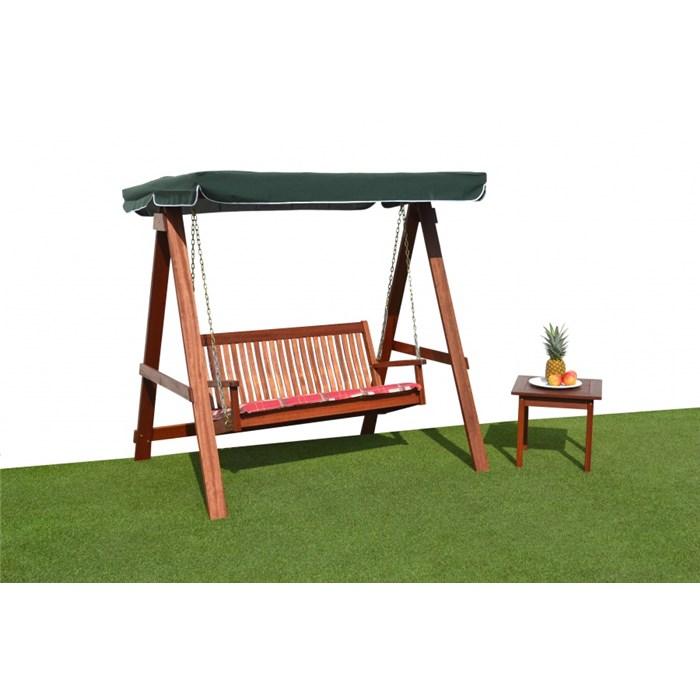 ASKO Zahradní dřevěná houpačka CANNES 2-místná - swm308
