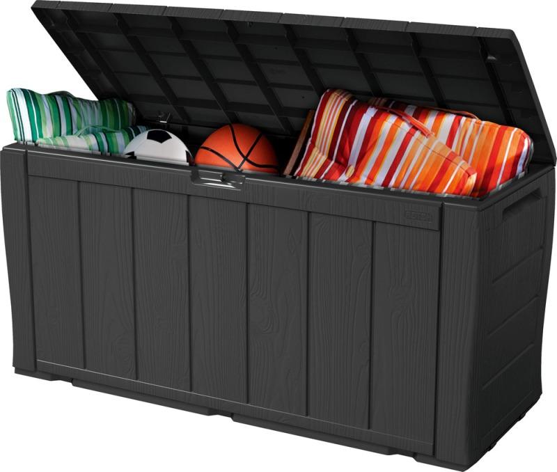 KETER KETER SHERWOOD zahradní úložný box, 270 l, antracit 17199435