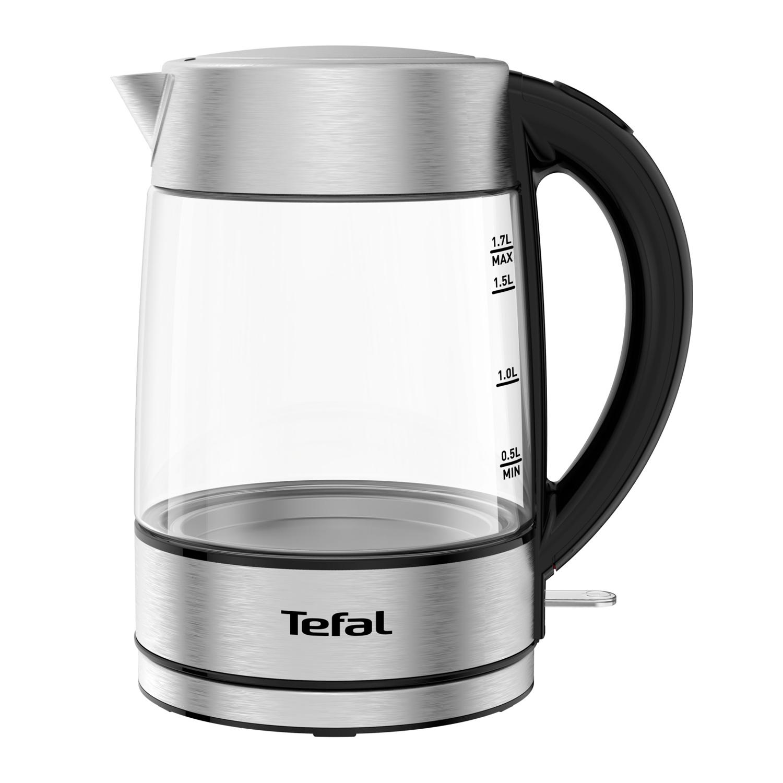 Tefal Glass Rychlovarná konvice 1,7 l TEFAL KI772D38