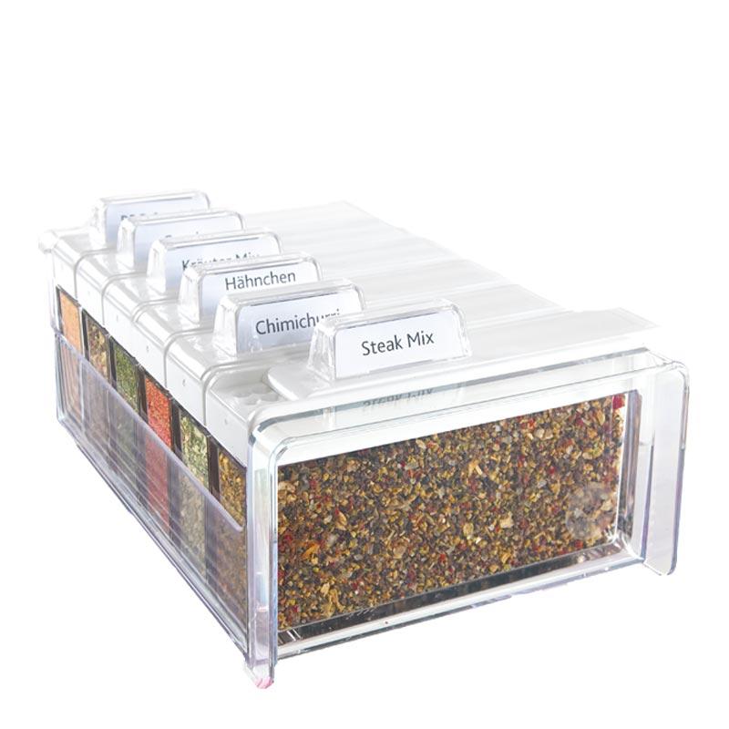 EMSA Kořenky 6 ks Barbecue Spice Box Emsa 509263
