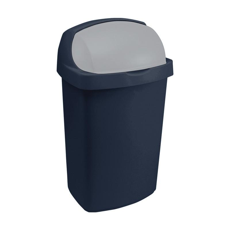 CURVER Koš na odpadky Roll Top 50L modrý (Curver 03977-266)