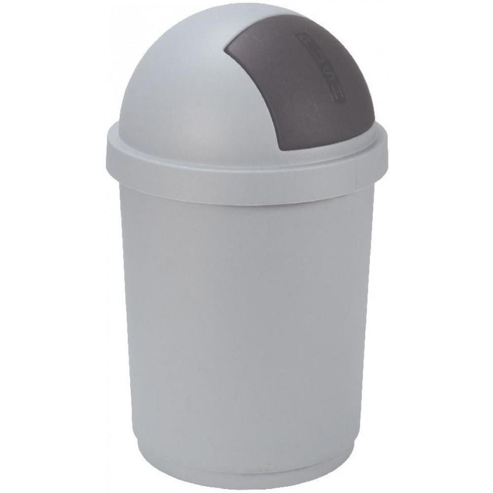 CURVER Koš odpadkový 50l BULLET metal Curver 03930-877