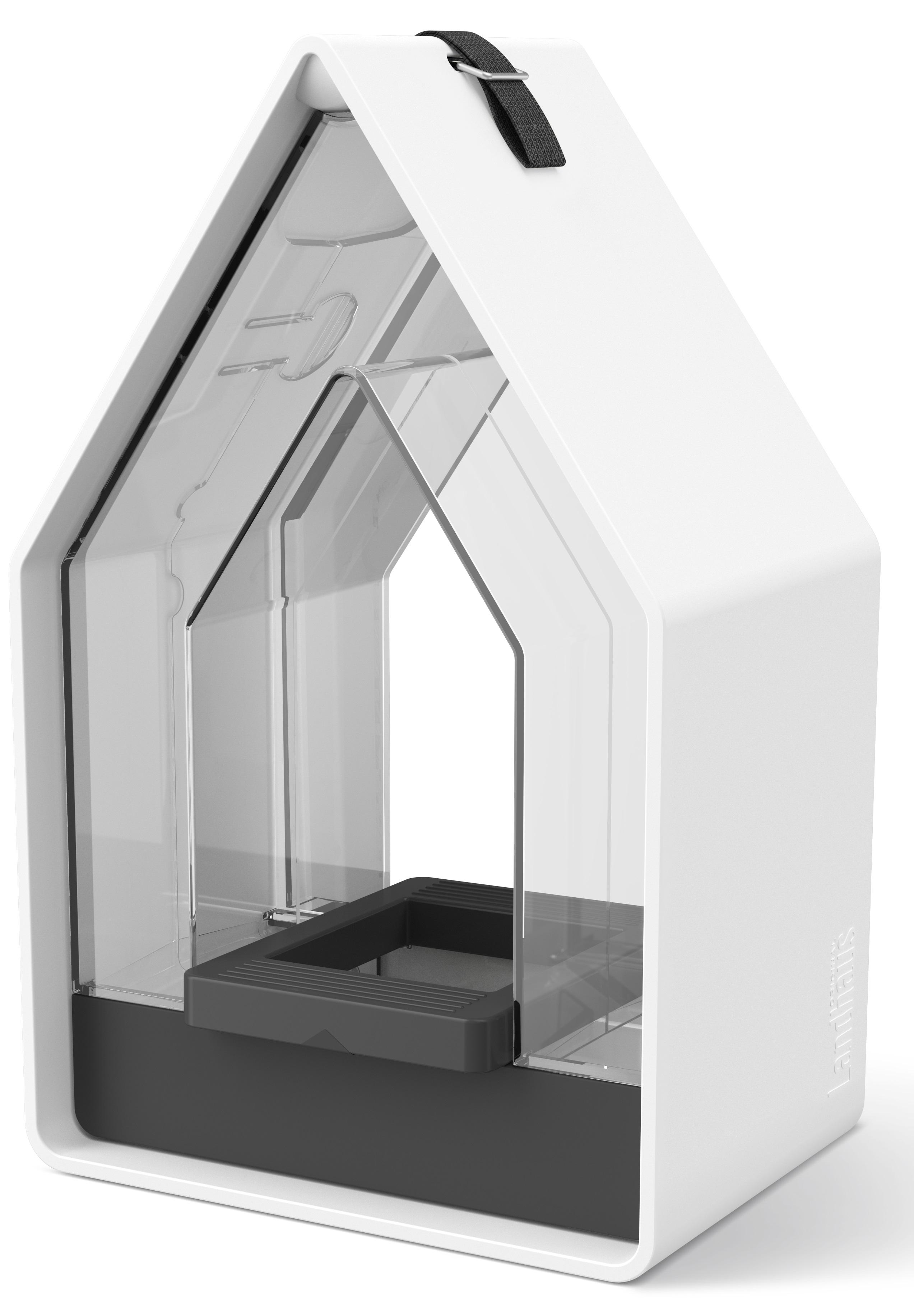EMSA Krmítko se zásobníkem 15 x 24 cm bílá/šedá Landhaus Emsa