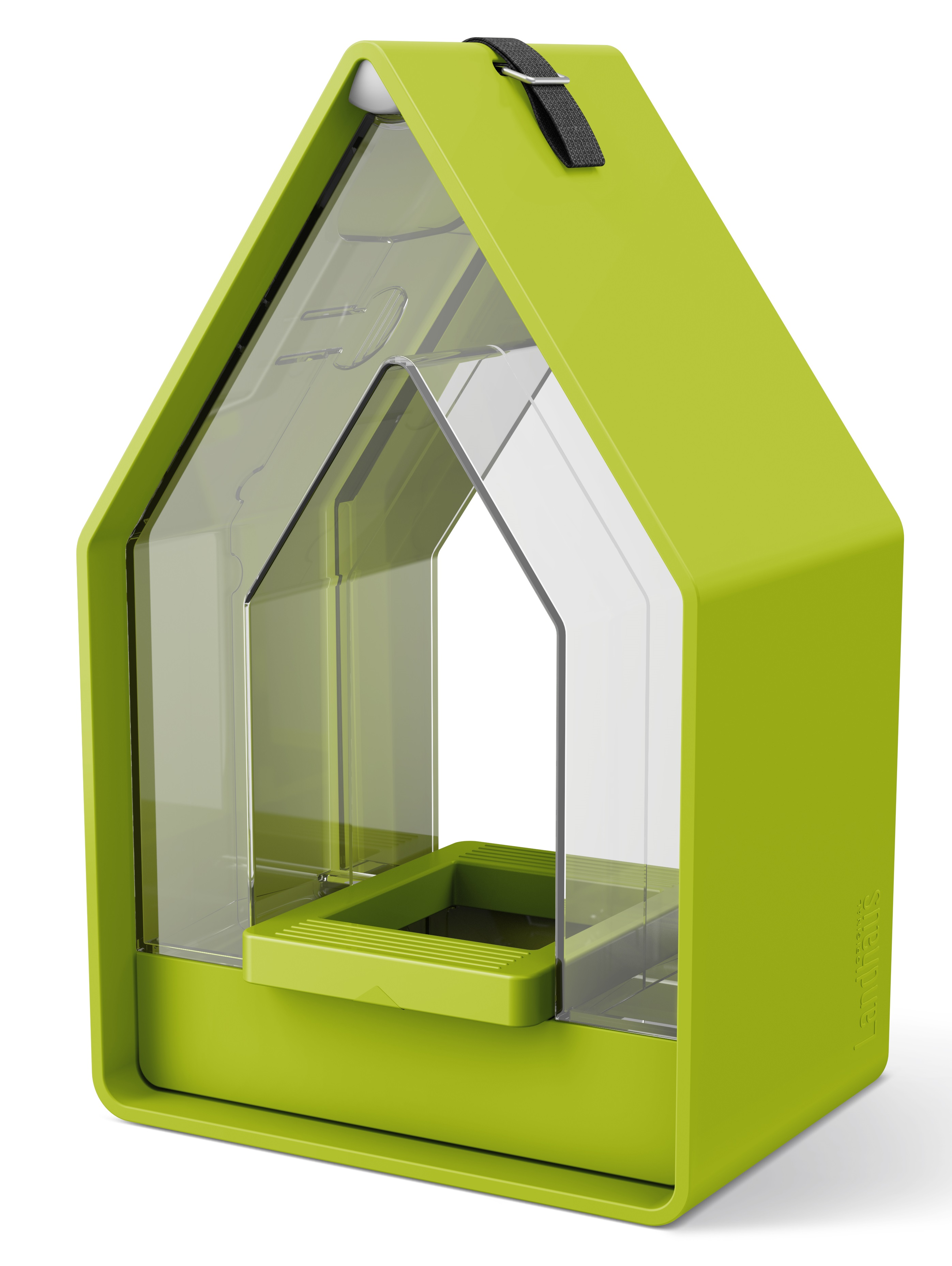 EMSA Krmítko se zásobníkem 15 x 24 cm zelené Landhaus Emsa
