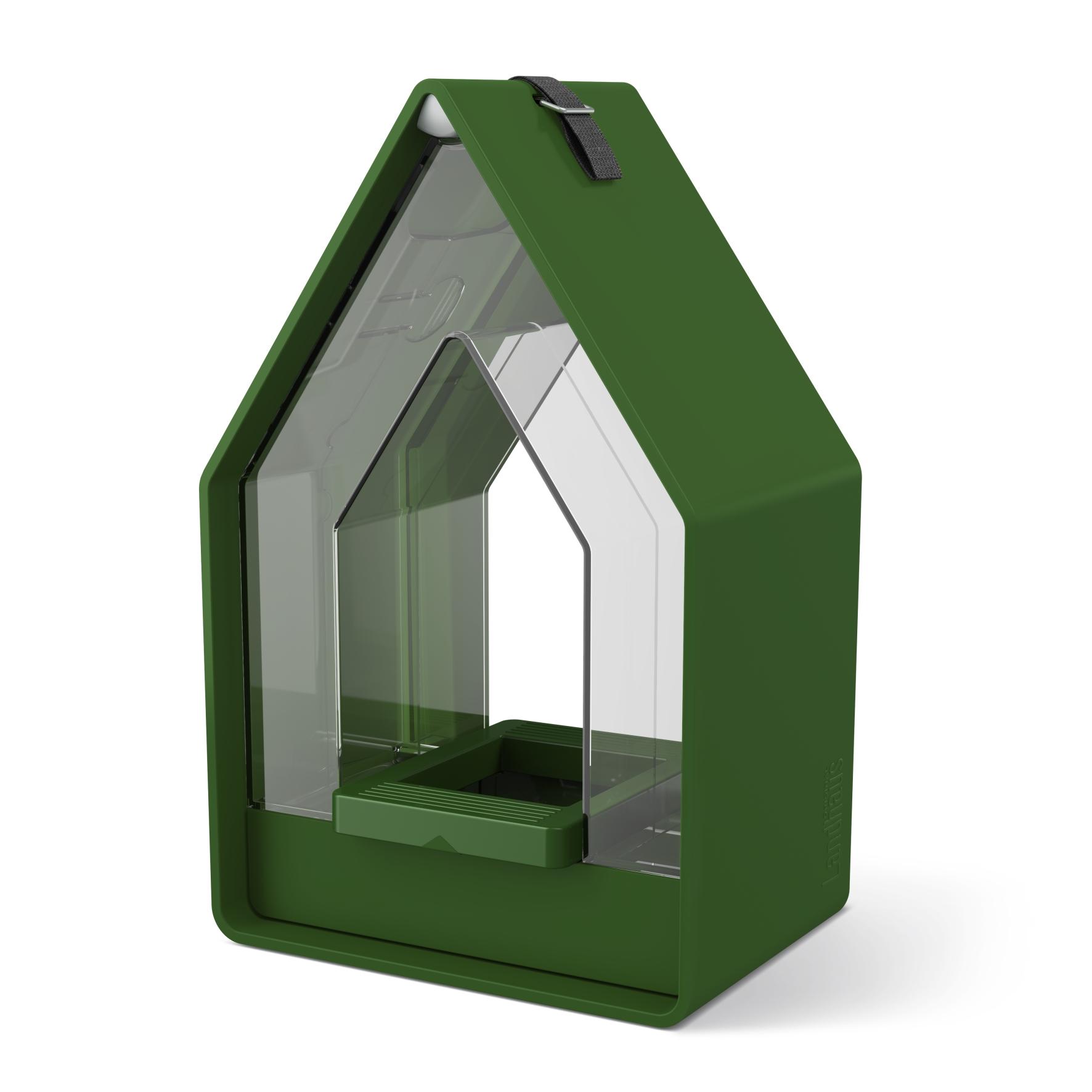 EMSA Krmítko se zásobníkem 15 x 24 cm tmavě zelené Landhaus Emsa