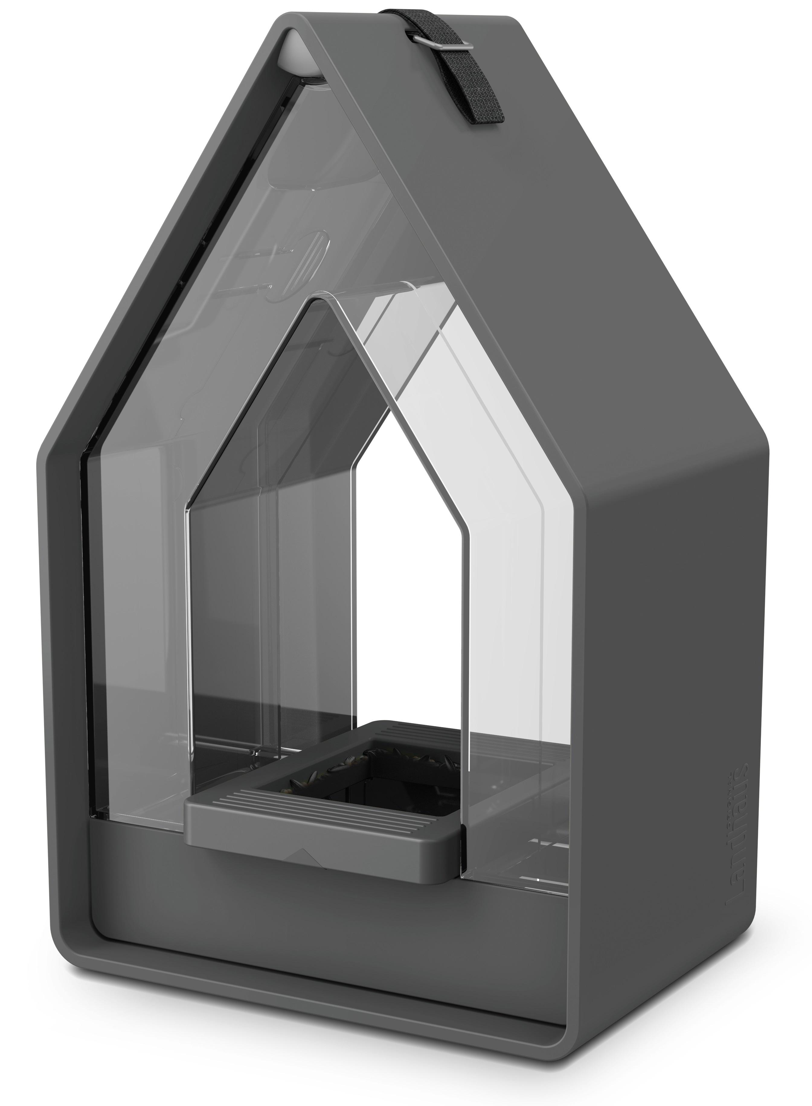 EMSA Krmítko se zásobníkem 15 x 24 cm šedé Landhaus Emsa