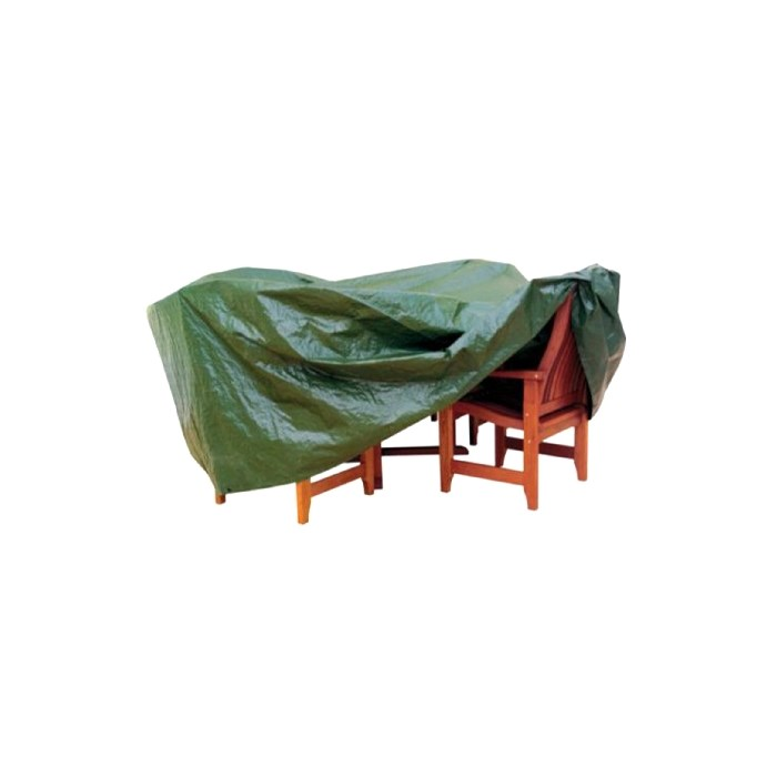 Krycí plachta na zahradní nábytek 278x204x106 cm