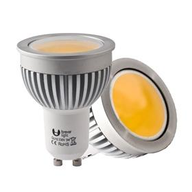 Forever Light LED ŽÁROVKA OBJÍMKA GU10 - 3W LED-COB (230V) TEPLÁ BÍLÁ