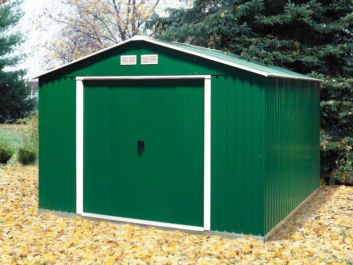 DURAMAX Zahradní domek Duramax COLOSSUS 7,8 m2 - zelený