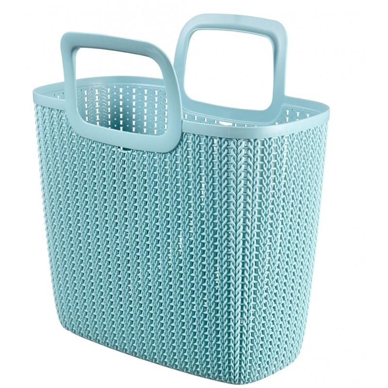 CURVER Nákupní taška KNIT - modrá (03672-X60)