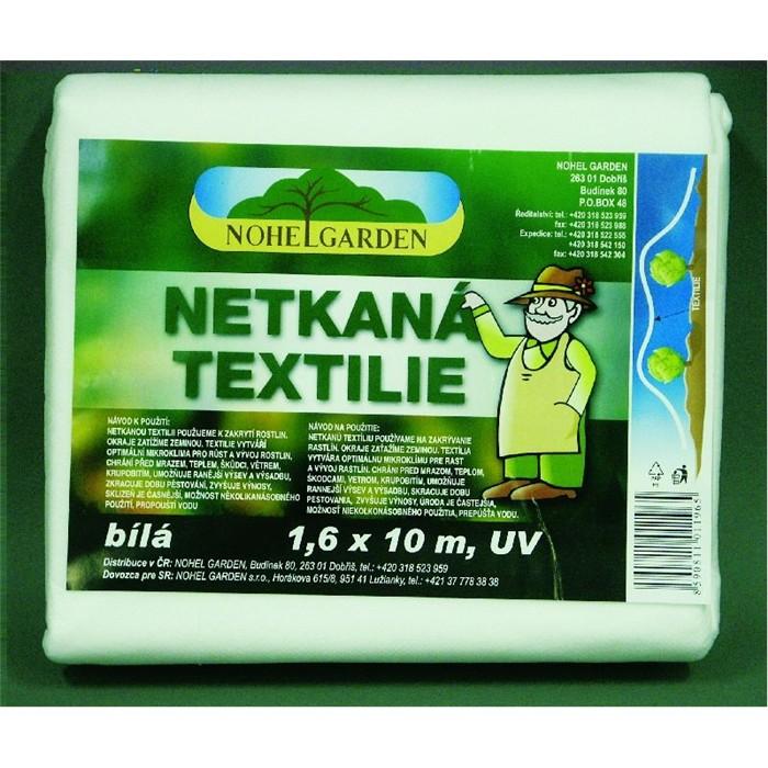 NOHEL GARDEN a.s. Netkaná textilie 1.6x10m bílá