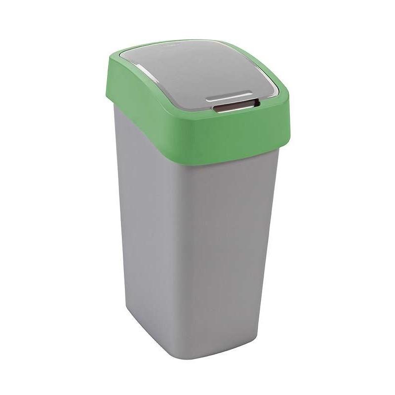 CURVER Odpadkový koš FLIPBIN 50l - zelený (02172-P80)