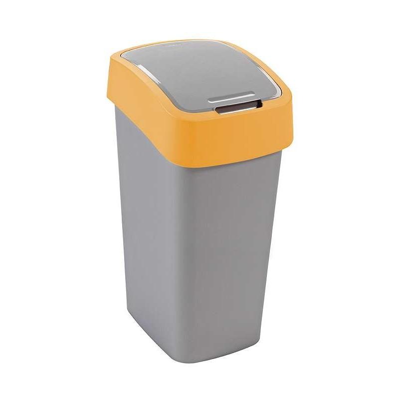 CURVER Odpadkový koš FLIPBIN 50l - žlutý (02172-535)