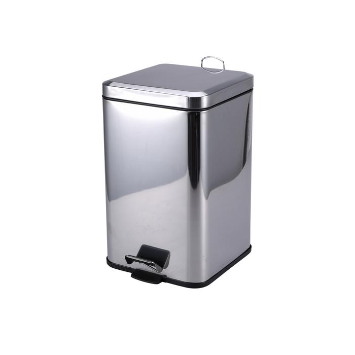 BERGNER Odpadkový koš pedálový hranatý 3L (BGEU-0004)