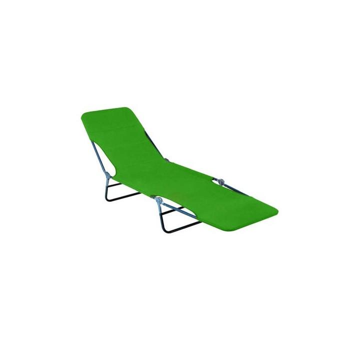 Happy Green Plážové, zahradní lehátko - zelené