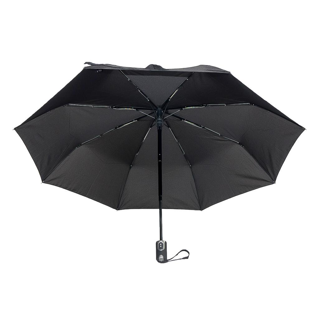 DOPPLER Plně automatický větruodolný deštník černý Carbonsteel Magic Doppler 744766