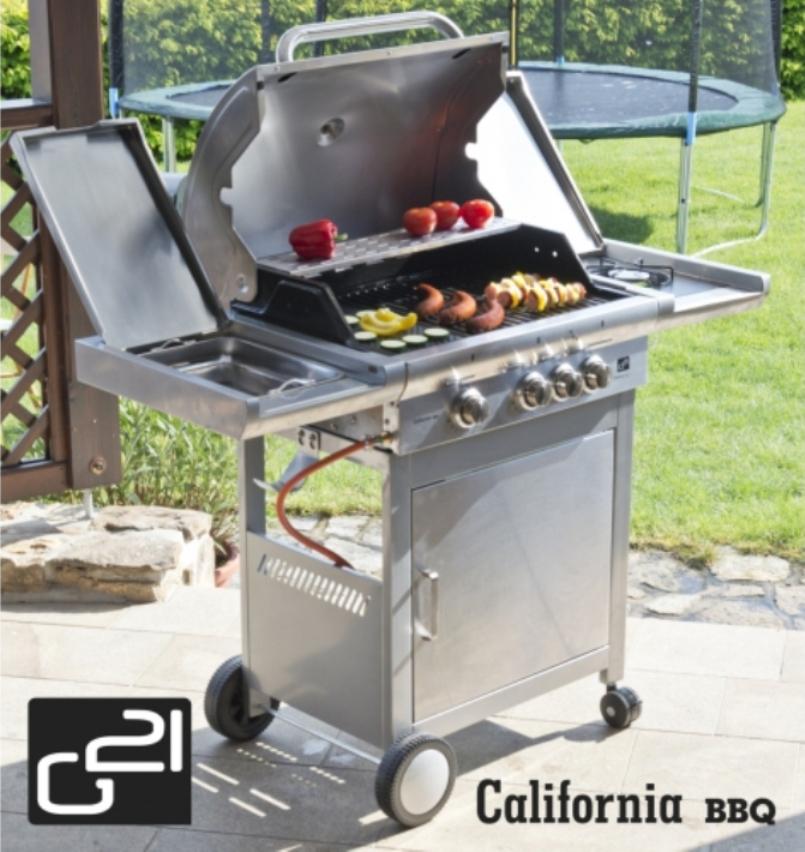G21 Plynový gril G21 California BBQ Premium line 6390305