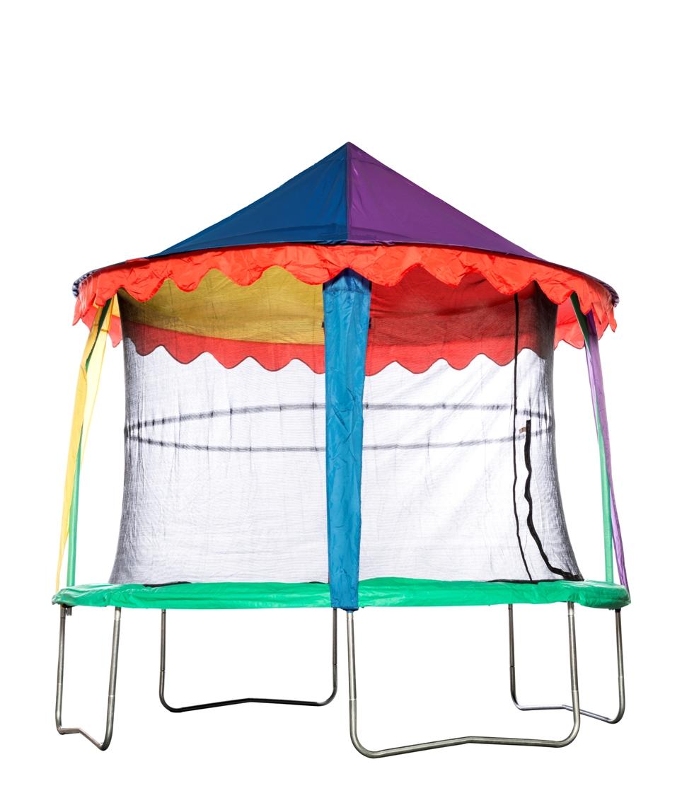 JUMPKING JumpKing Plachta pro trampolínu 4,2M, design cirkus