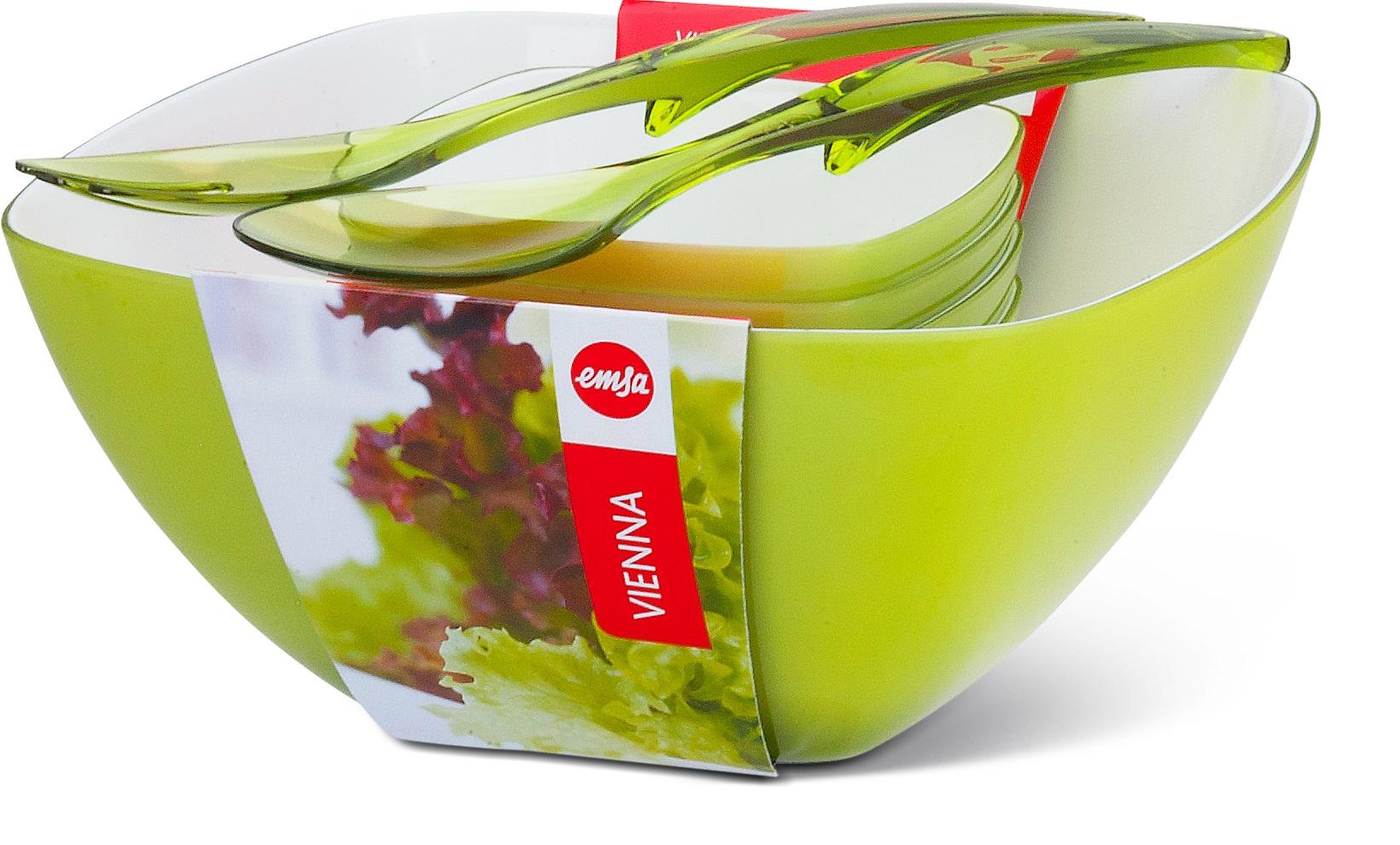 EMSA Salátový set 6-ti dílný zelený Vienna Emsa 509824