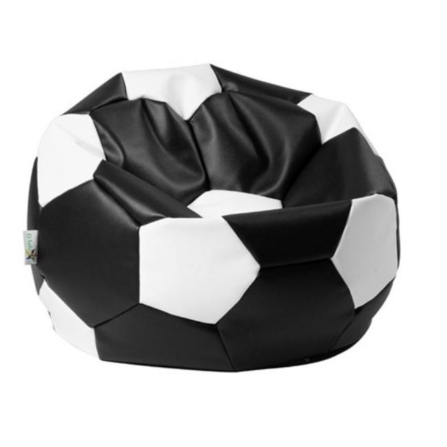 ANTARES Sedací pytel EUROBALL BIG XL černo-bílý Antares