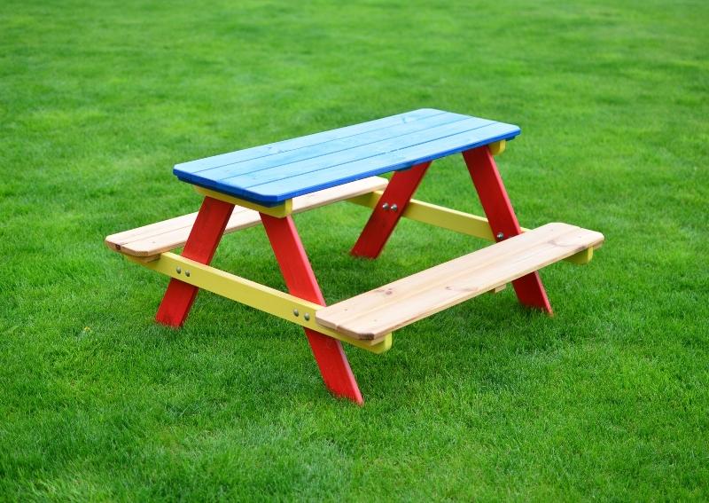MARIMEX Sestava dětská dřevěná PIKNIK Marimex 11640203