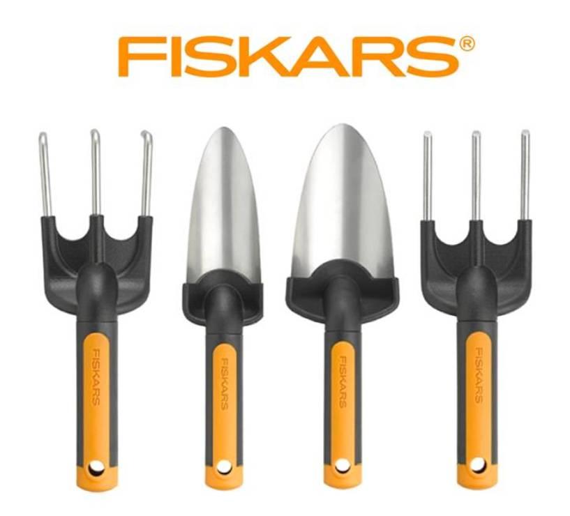 FISKARS Set drobného nářadí Premium Fiskars 4 ks