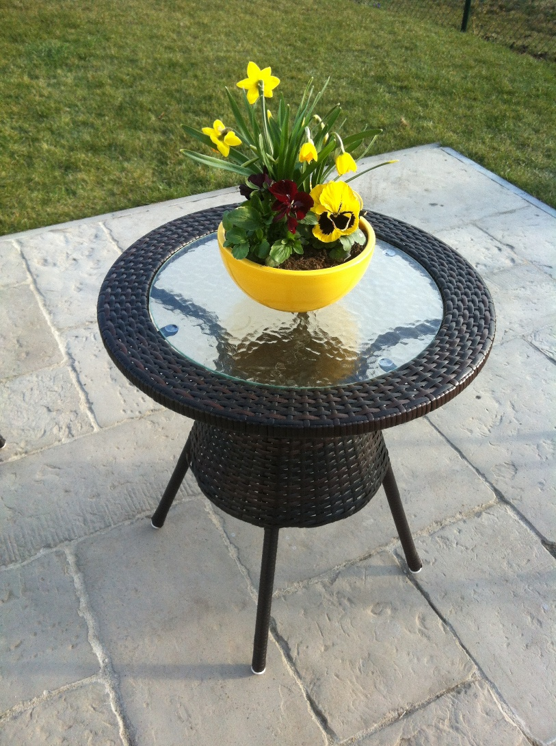 Royal Garden Stolek zahradní BISTRO 60 cm